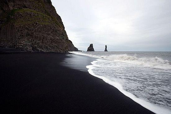 Черный пляж, Исландия
