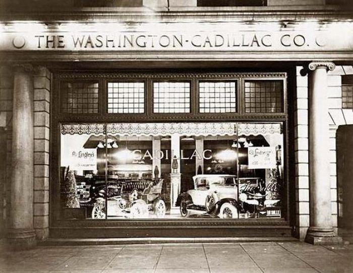 Магазин по продаже автомобилей Cadillac Co.