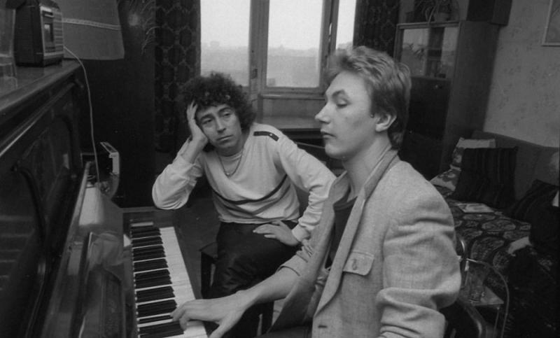 Валерий Леонтьев и Игорь Николаев, 1985