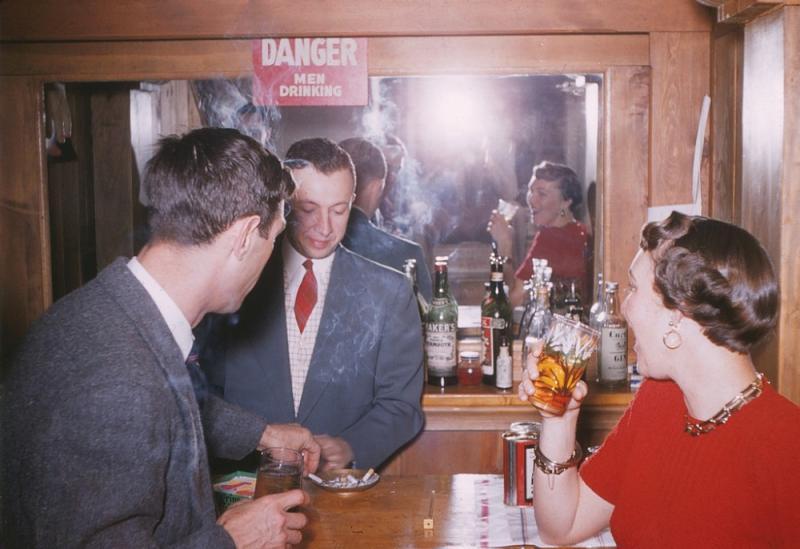 Вечеринка в Сан-Диего, Калифорния, 1956