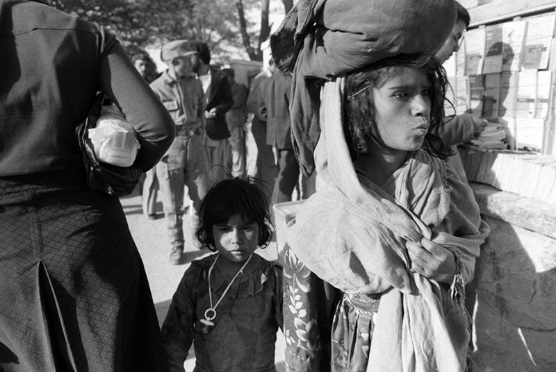 Афганские дети в Кабуле, 1980 год